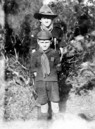 Early scouts at Camp Coutts
