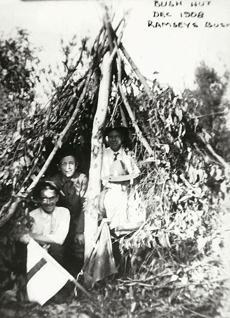 Bush Hut 1908