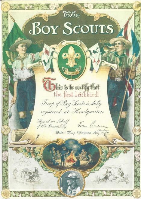 1st Leichhardt Scouts Registration