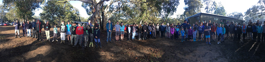 1st Leichhardt Troop at Cataract Scout Park 2017