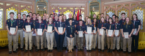 Queen's Scout Awards 5th August 2017