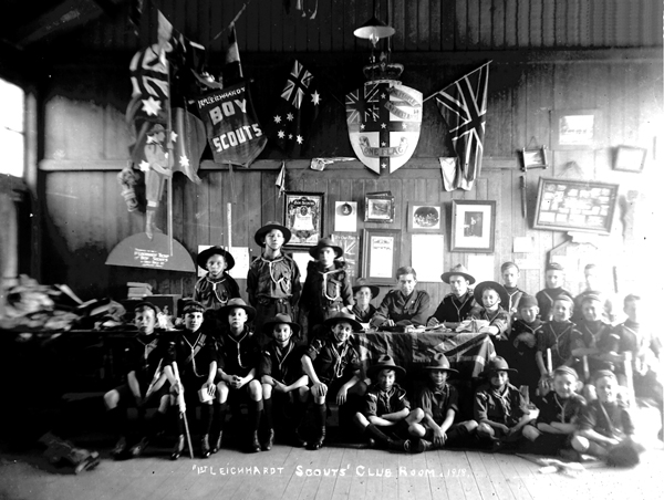 1st Leichhardt Scouts Club Room, 1918