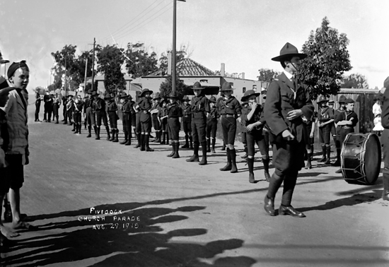 """Five Dock Church Parade Aug 29. 1915"""