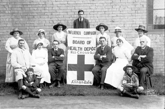 Influenza Campaign, Photo J. Coutts, 7 Cromwell, St, Leichhardt