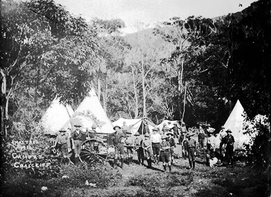 """""""Xmas Tree 1916 Camp At Coalcliff"""""""